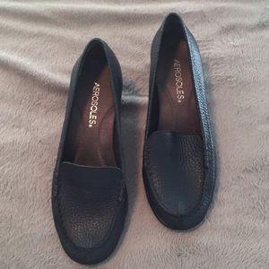 Navy Aerosoles heel